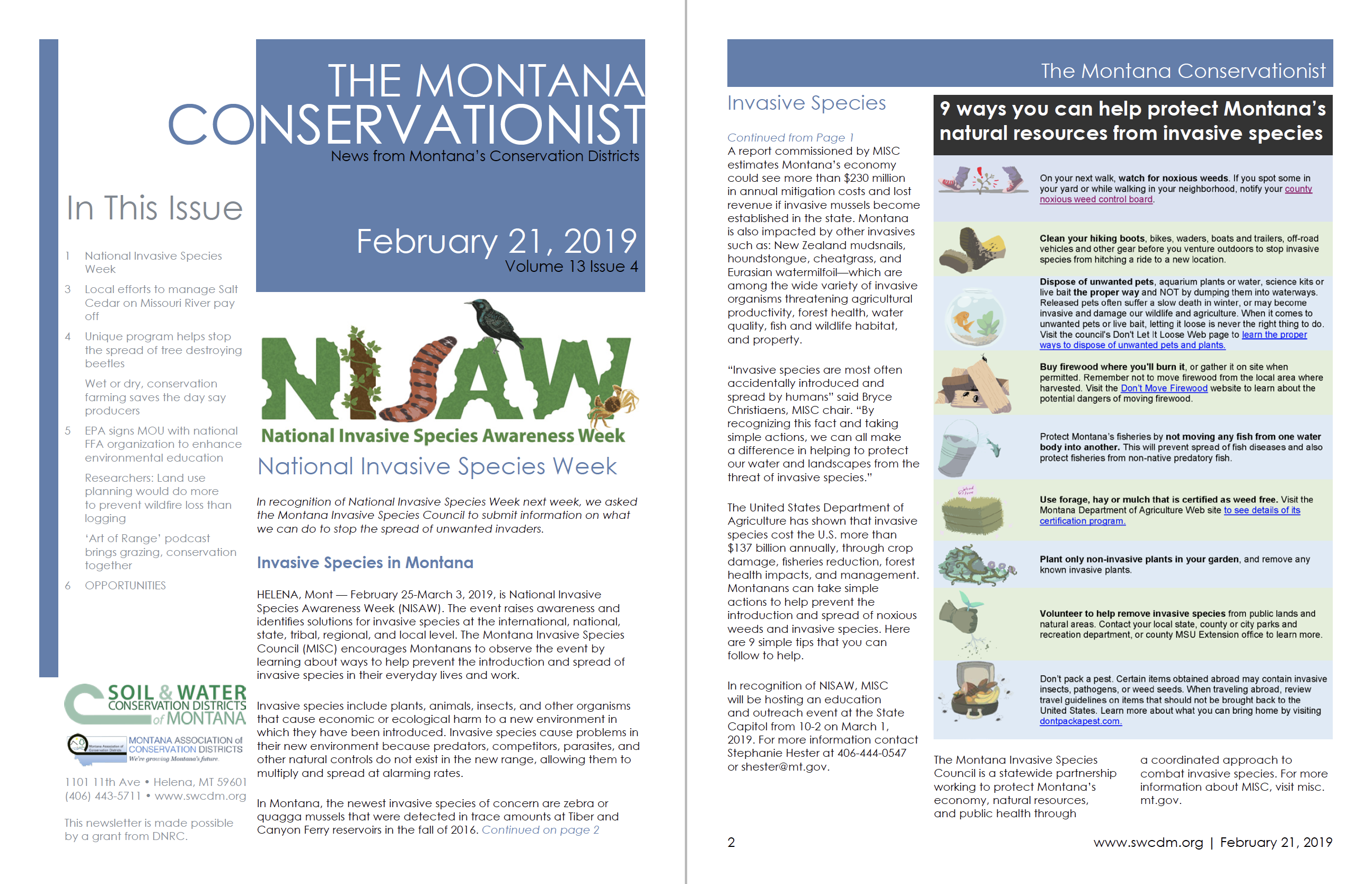 The Montana Conservationist February 21