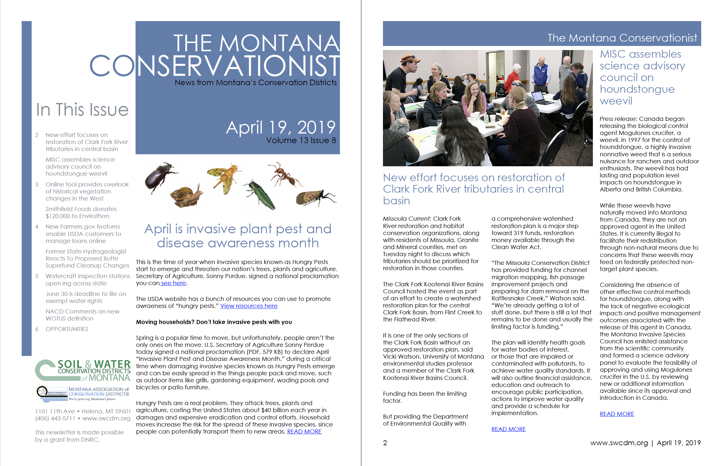 The Montana Conservationist April 19